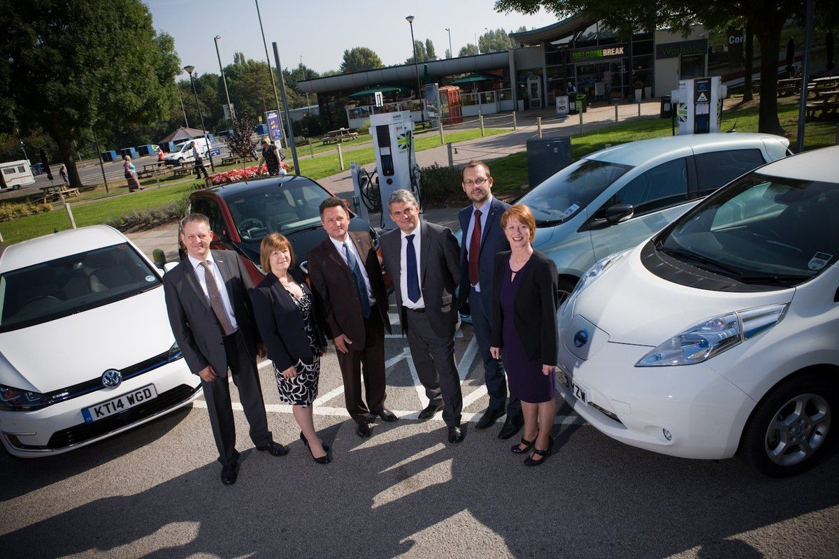 UK's Rapid Charge Network for EV