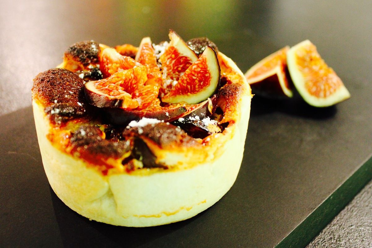 Mini cheese-cake aux figues...