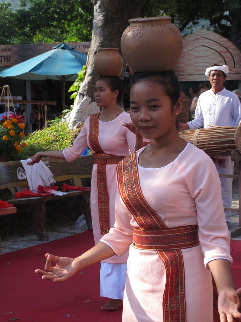 Danse traditionnelle au temple