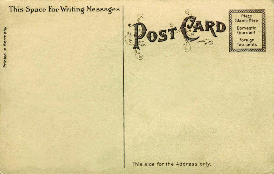 Correspondance : Cartes Postales