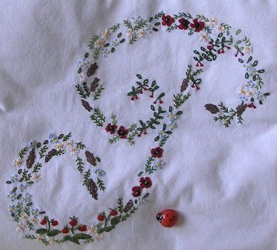 Broderie traditionnelle pour ma surprise