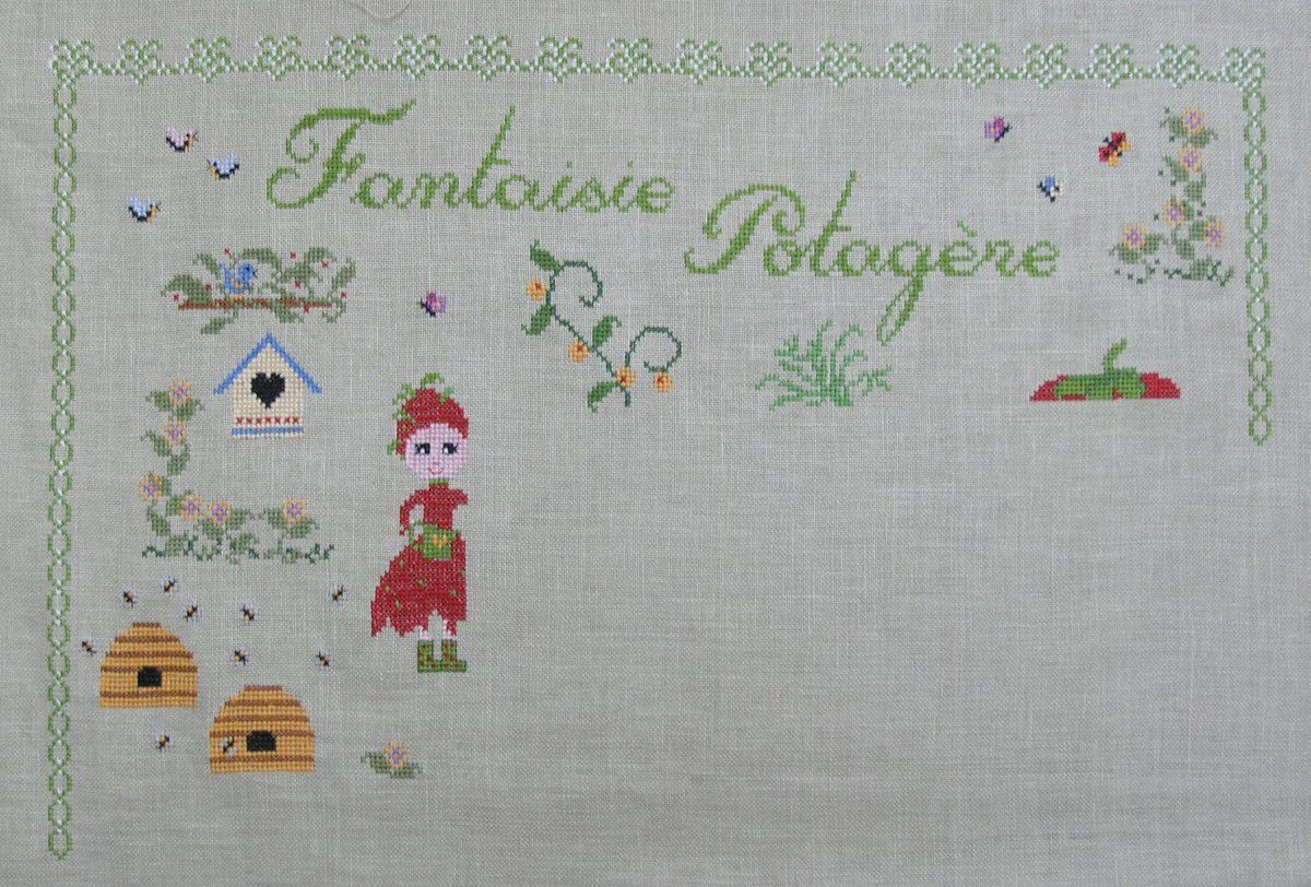 FANTAISIE POTAGERE - Etape d'avril