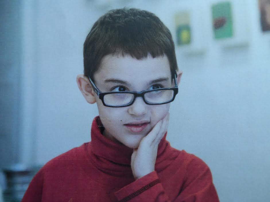 Exposition de Théo enfant autiste de 8 ans