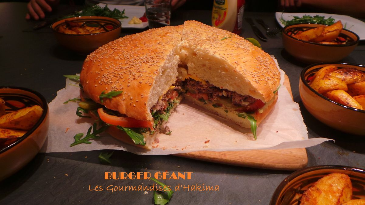 Burger Géant - Bataille Food # 21