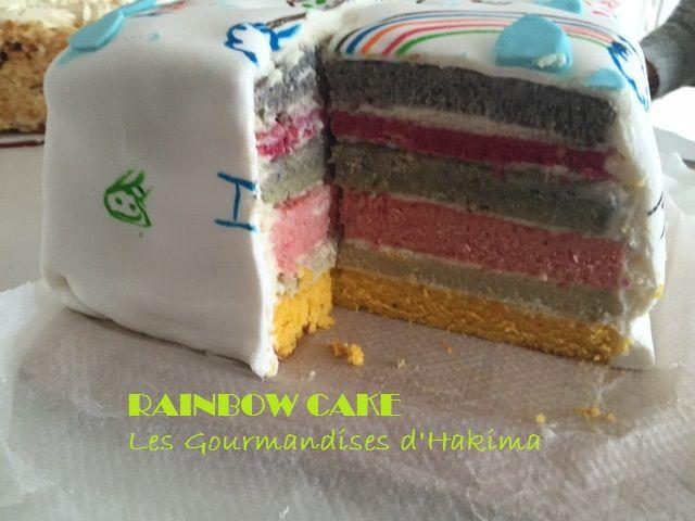 Rainbow cake - Battle food # 29
