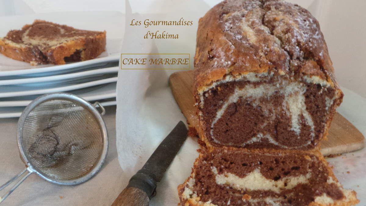 CAKE MARBRE CHOCOLAT - VANILLE