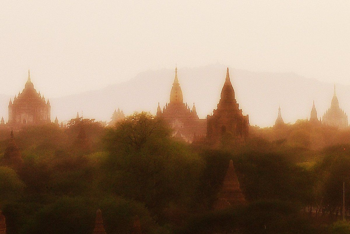 Site de Bagan , Birmanie