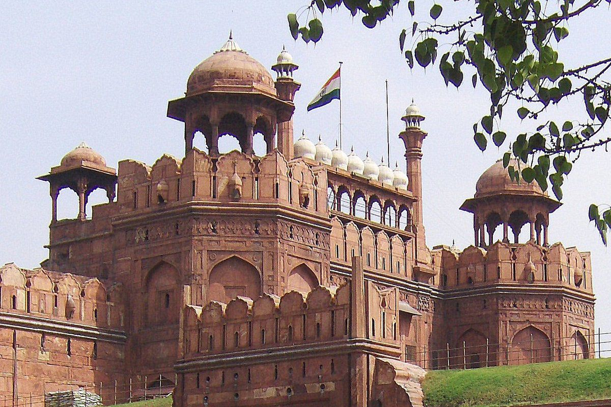 Le Fort Rouge de New Delhi , Inde