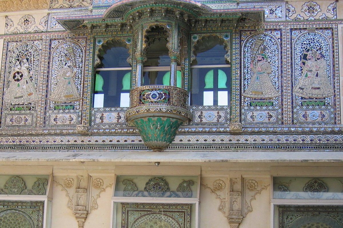 City Palace à Udaipur , Inde