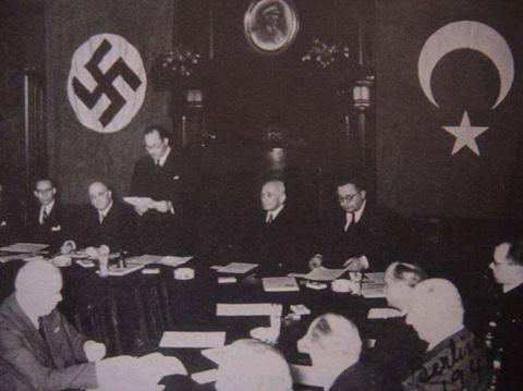 Turquie - nazi pacte