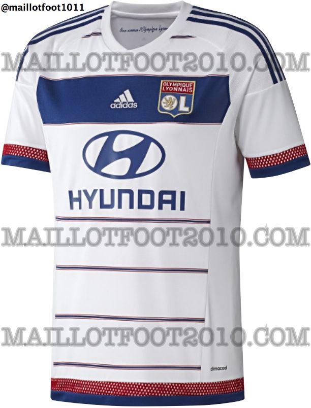 Maillot Olympique Lyonnais nouveau