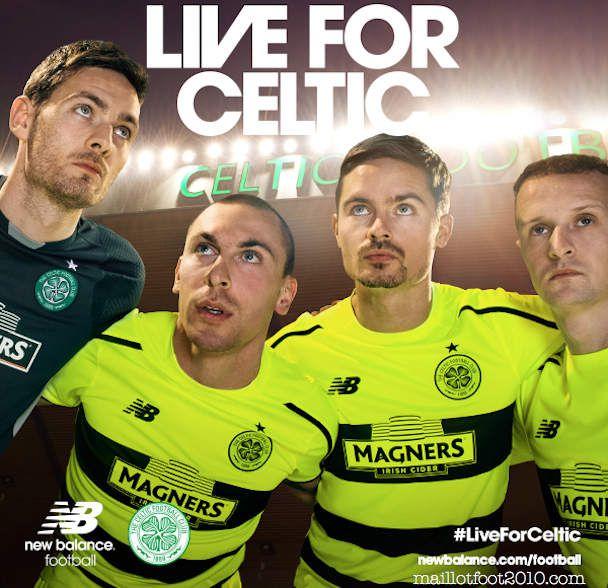 Celtic FC euro kit New Balance 2015 2016