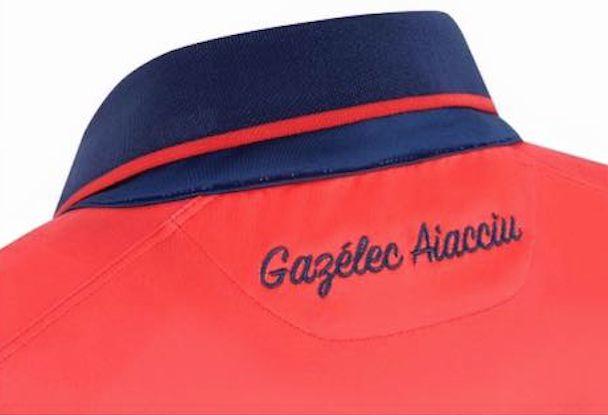 Gazélec Ajaccio nouveaux maillots 2015 2016 Ligue 1
