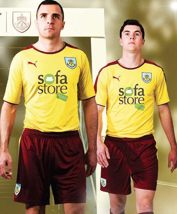 Burnley FC New away kit 2015 2016