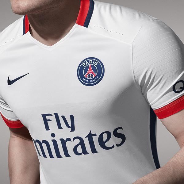 PSG nouveau maillot extérieur 2015 2016