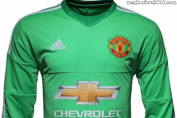 MANCHESTER UNITED : MAILLOT DOMICILE + GARDIEN  2015/2016