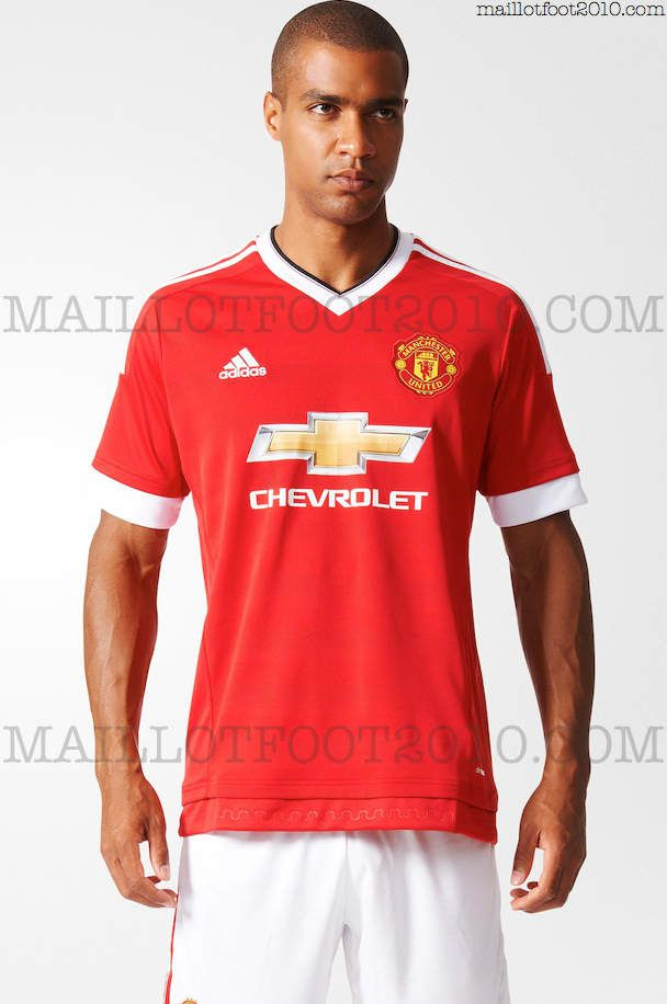 Adidas maillots Manchester United 2015 2016