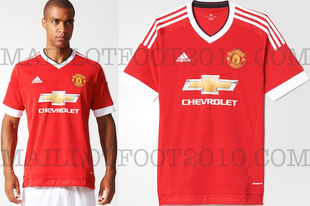 PHOTOS ADIDAS : MANCHESTER UNITED MAILLOT DOMICILE