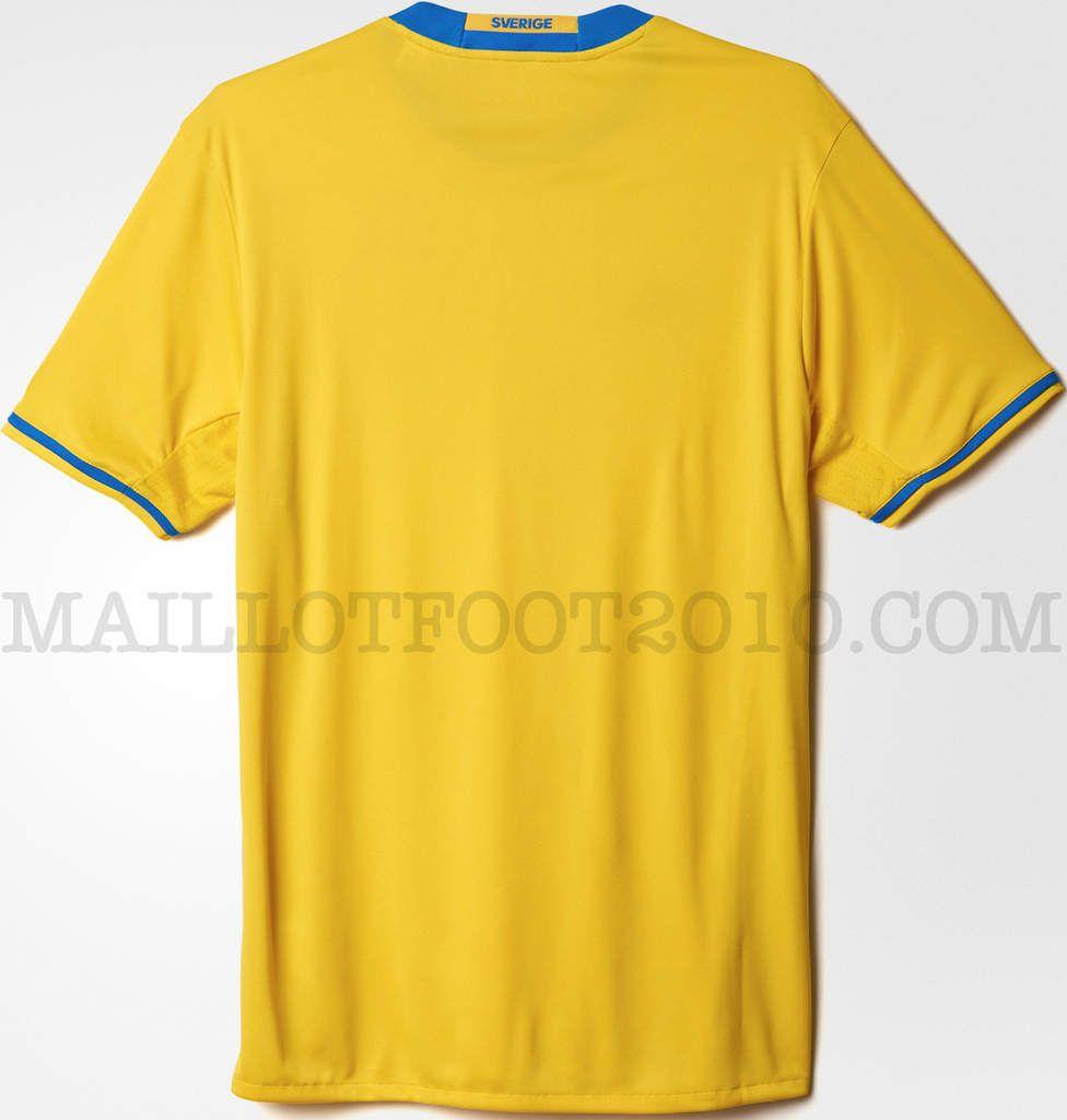 Suède maillot Euro 2016 en France