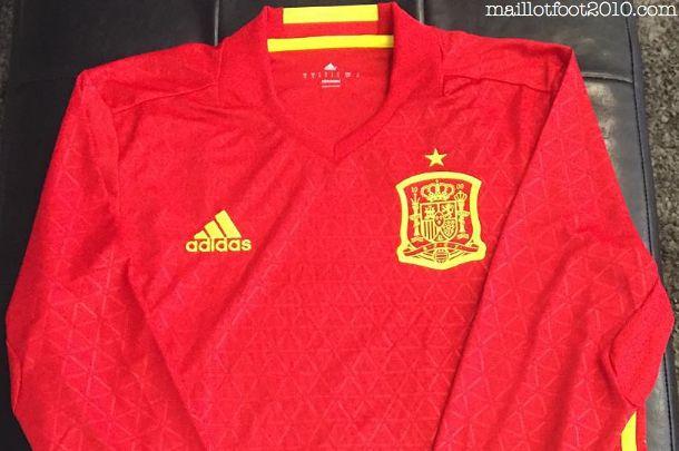 ESPAGNE : NOUVEAU MAILLOT DOMICILE EURO 2016