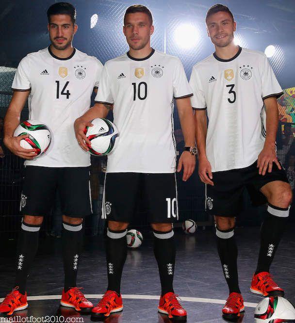 OFFICIEL : ALLEMAGNE MAILLOT DOMICILE EURO 2016
