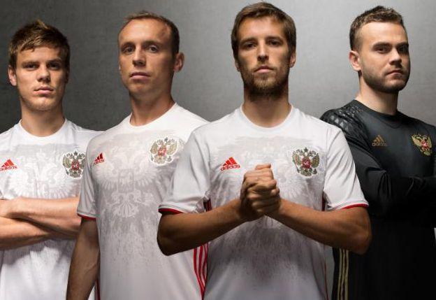 OFFICIEL : RUSSIE MAILLOT EXTERIEUR EURO 2016