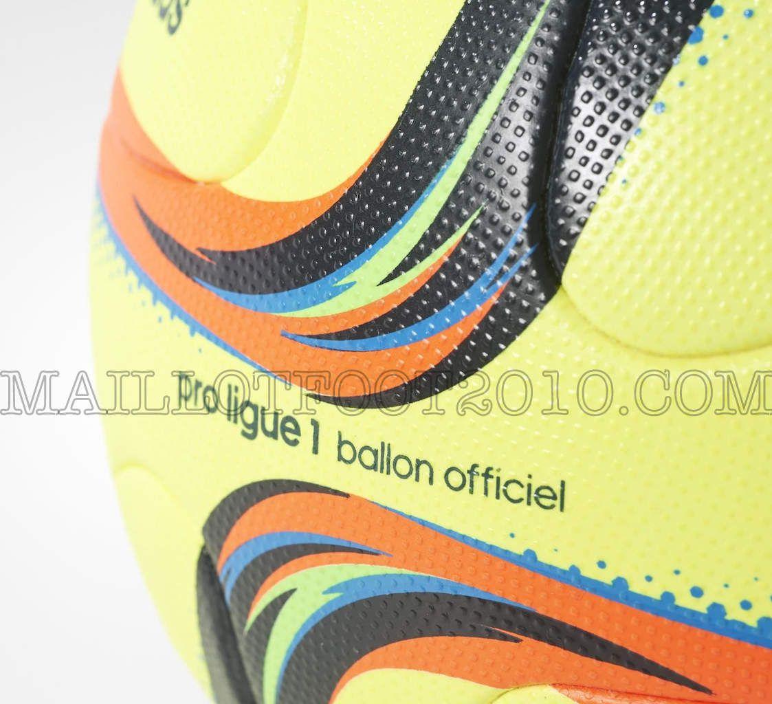 nouveau ballon jaune ligue 1 2015 2016
