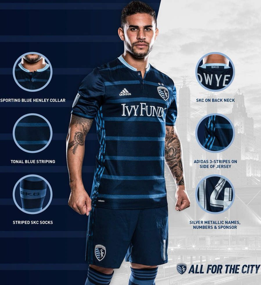 Sporting Kansas City new jersey 2016