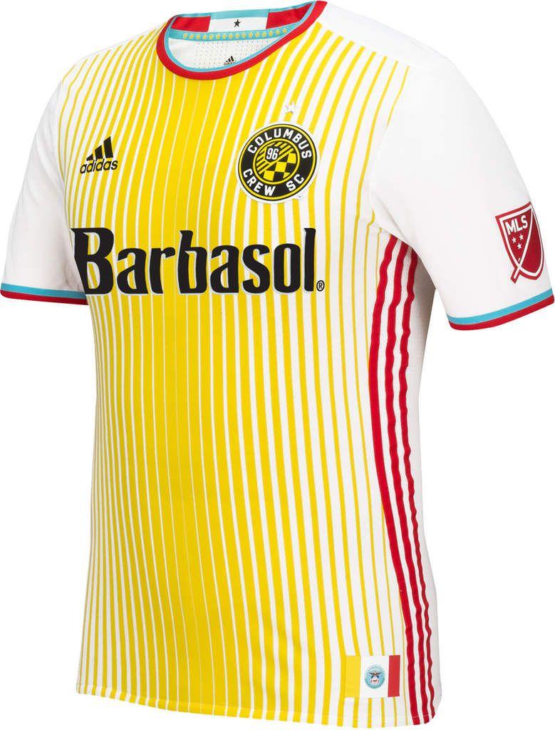 Columbus Crew new jersey 2016