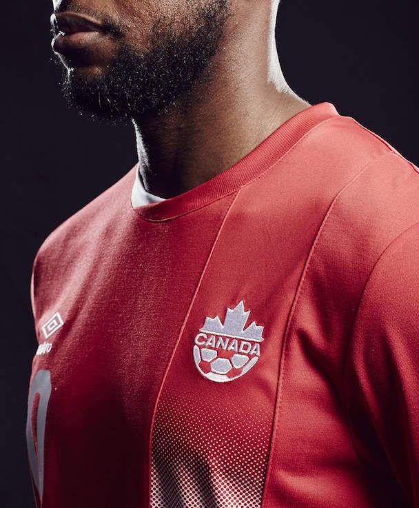 Nouveau maillot 2016 Canada