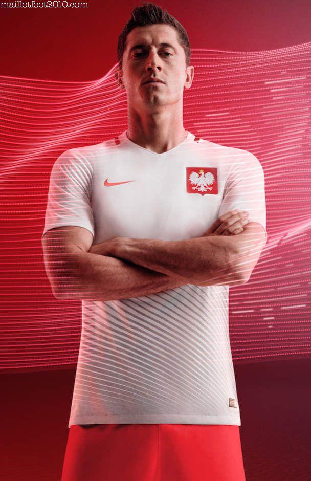 Pologne maillots Euro 2016 en France