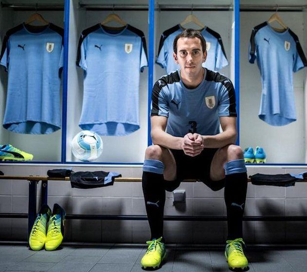 Nouveaux maillots Uruguay Copa America 2016