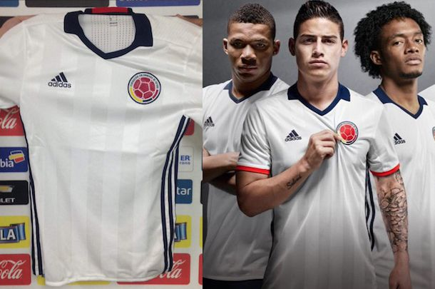 COLOMBIE : MAILLOT PARTICULIER COPA AMERICA 2016