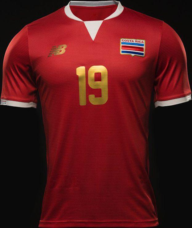 Costa Rica maillots Copa America 2016