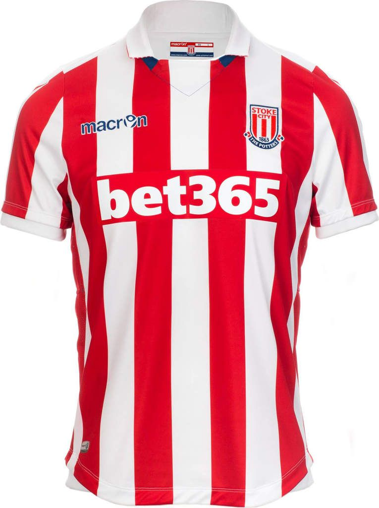 Stoke City new kits Macron 2016 2017