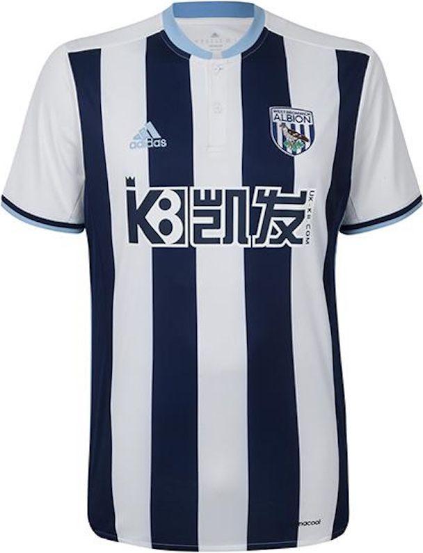 West Bromwich Albion new kits 20162017