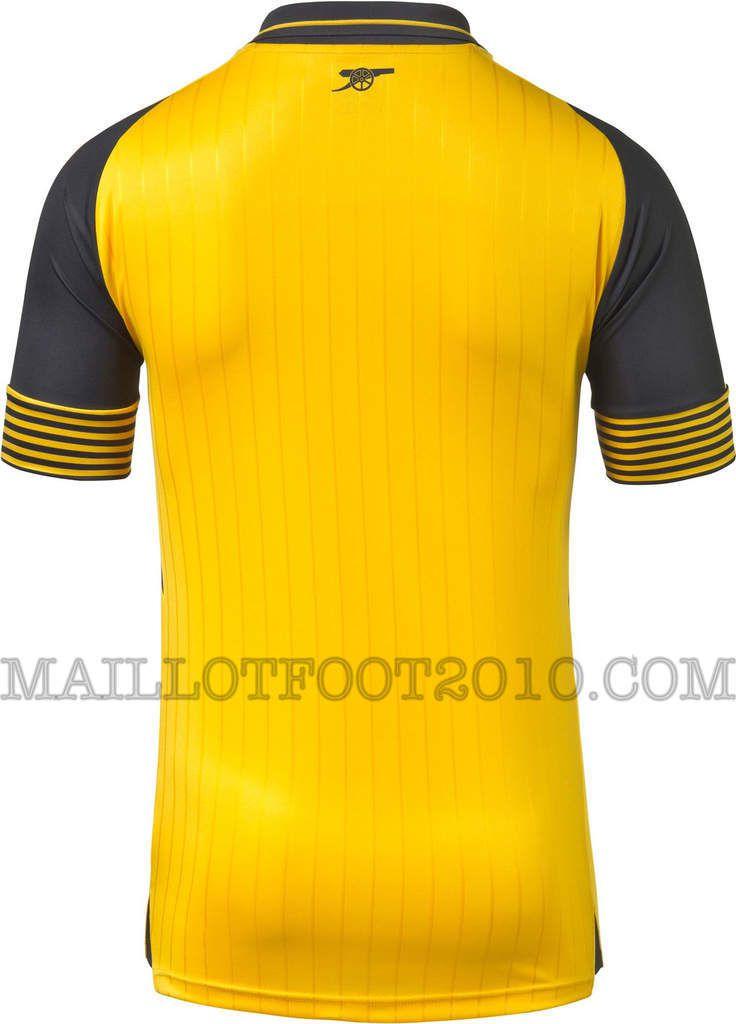 Arsenal nouveaux maillots 2016 2017