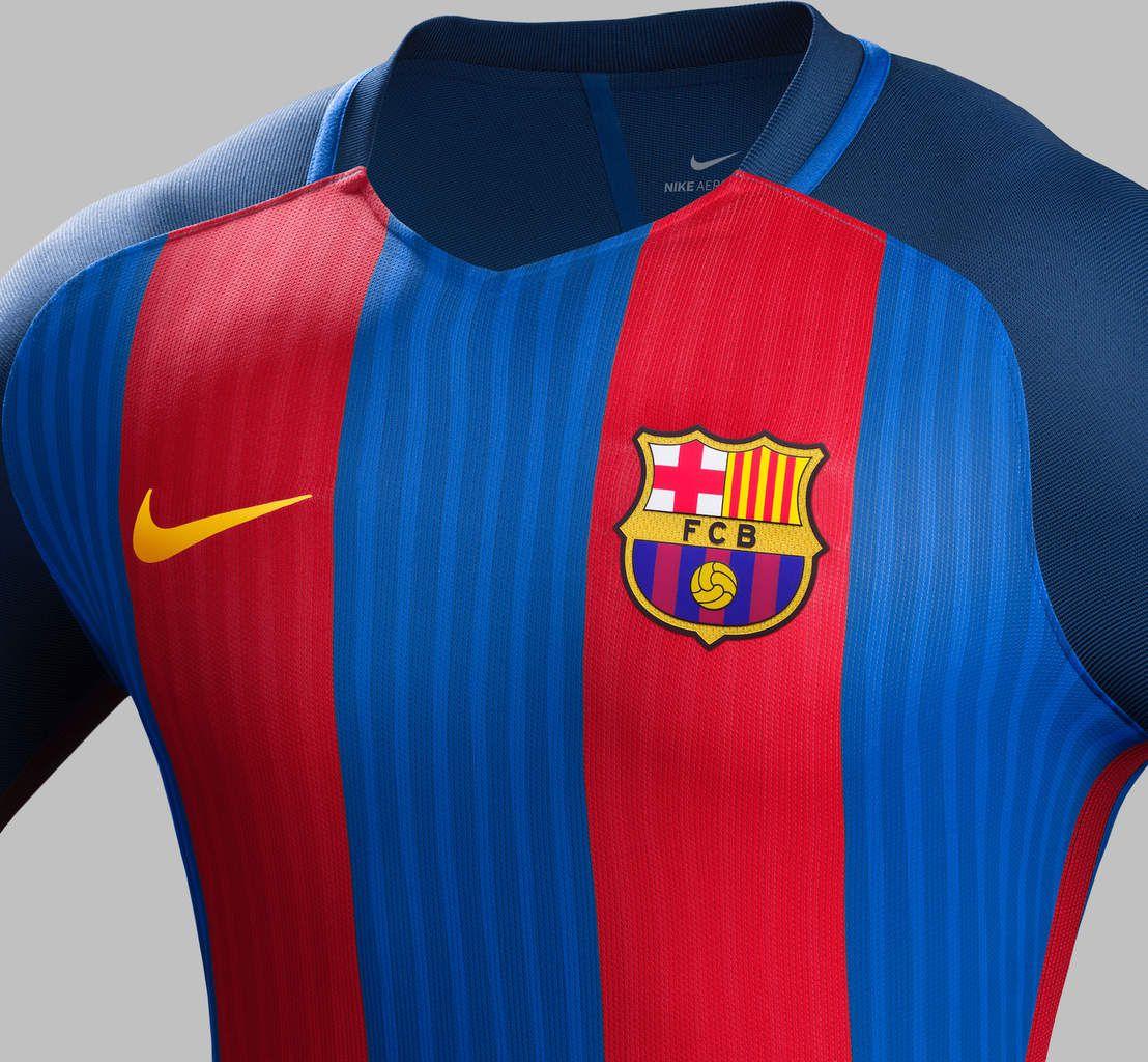 FC Barcelone nouveau maillot domicile 2016 2017