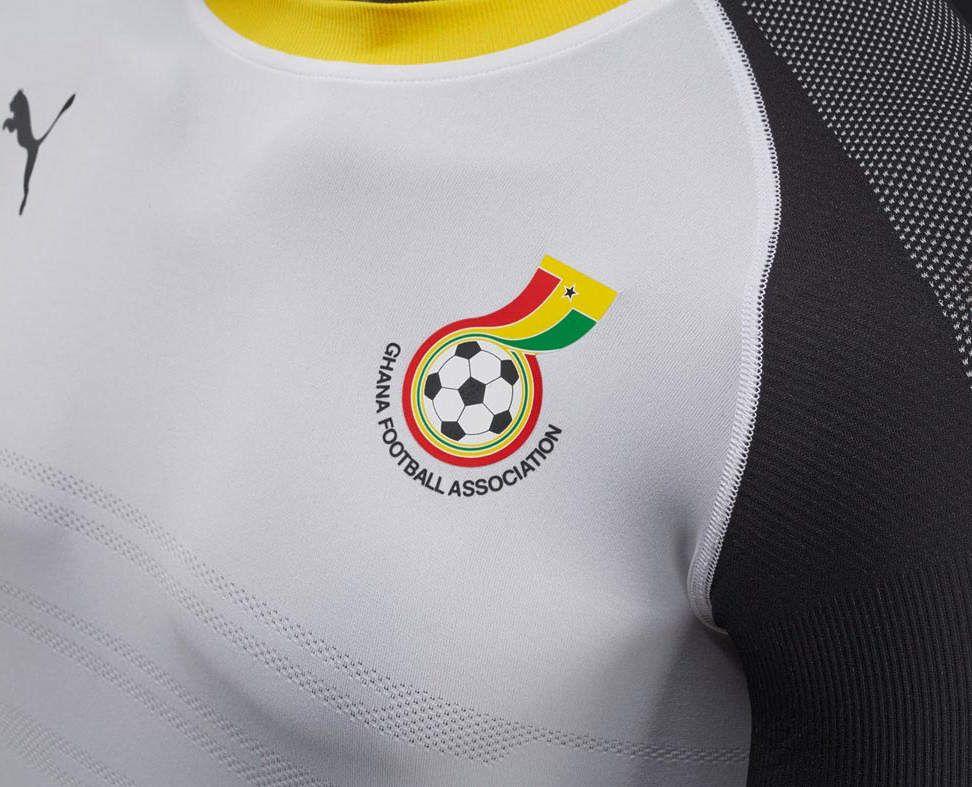 Ghana nouveau maillot 2016 2017