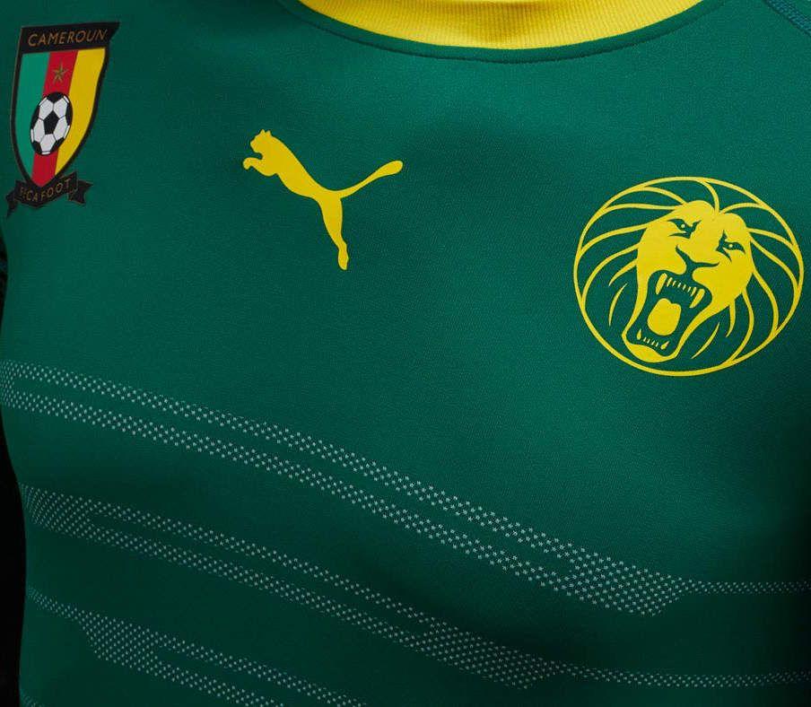 Cameroun nouveau maillot 2016 2017
