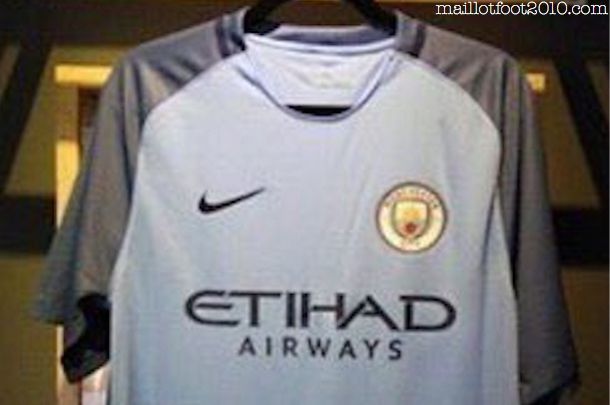 Maillot Domicile Manchester City 2017