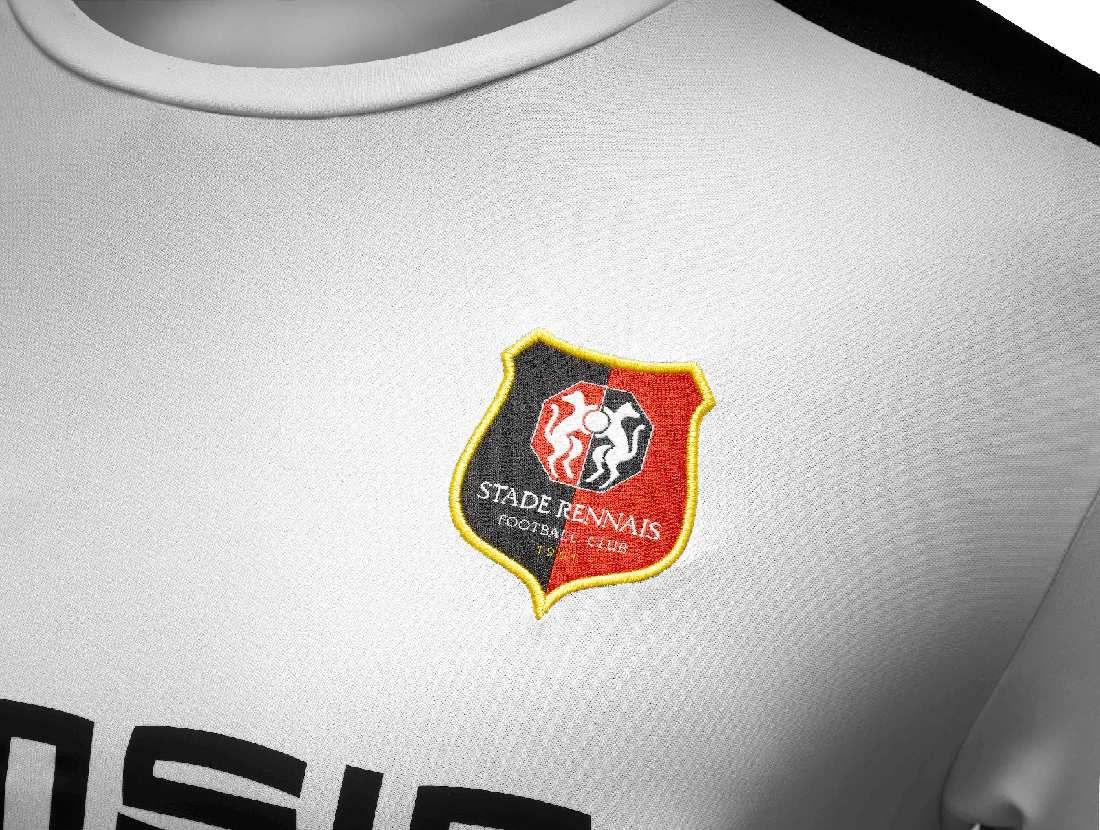 Rennes nouveau maillot exterieur 2016 2017 www for Maillot rennes exterieur