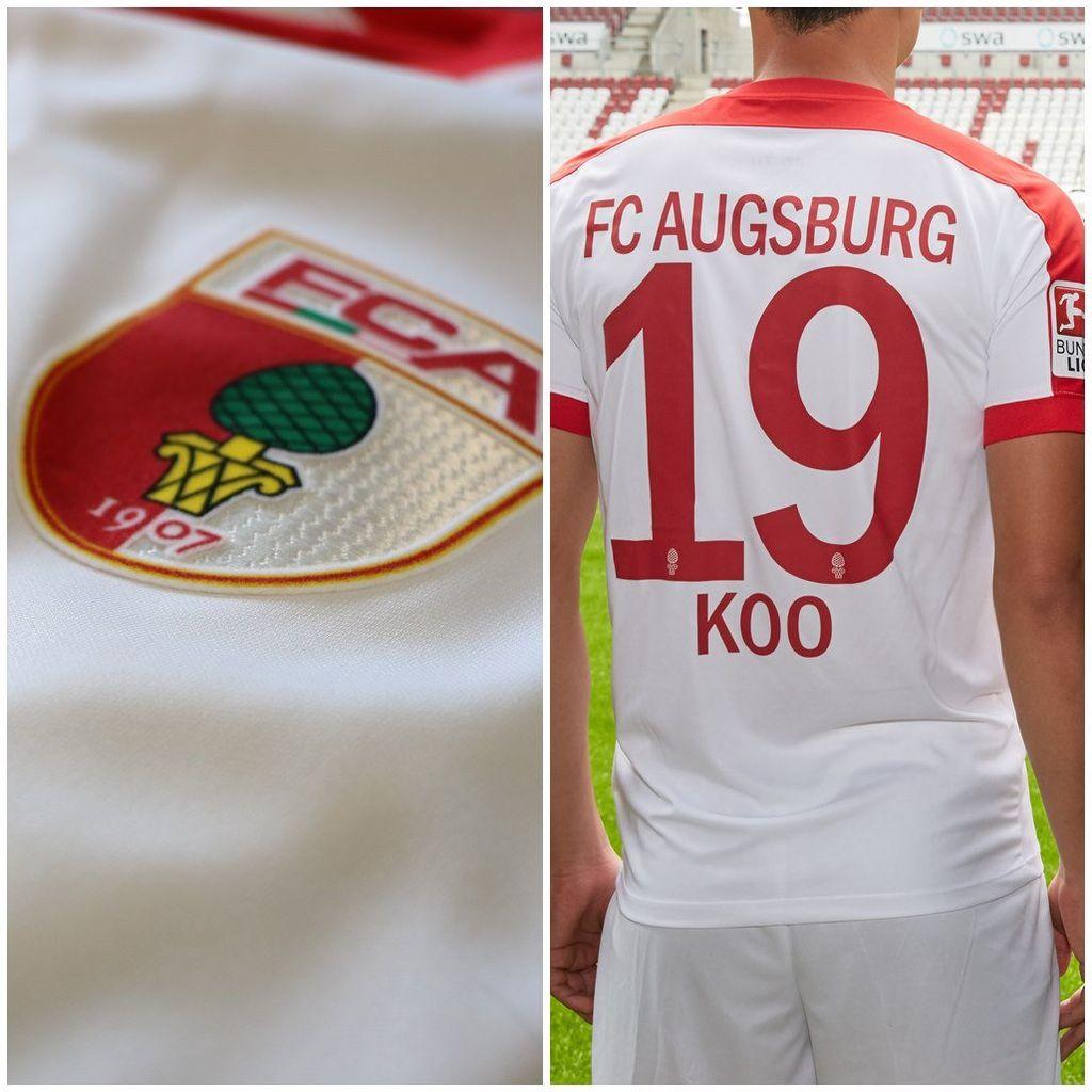 FC AUGSBURG : NOUVEAUX MAILLOTS 2016/2017