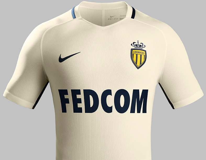 OFFICIEL : AS MONACO MAILLOT EXTERIEUR 2016/2017