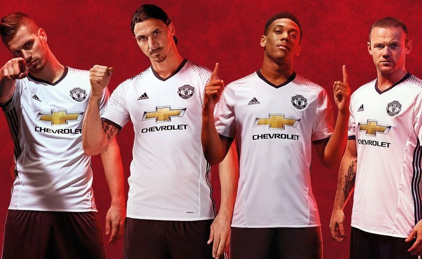 MANCHESTER UNITED : MAILLOT THIRD 2016/2017