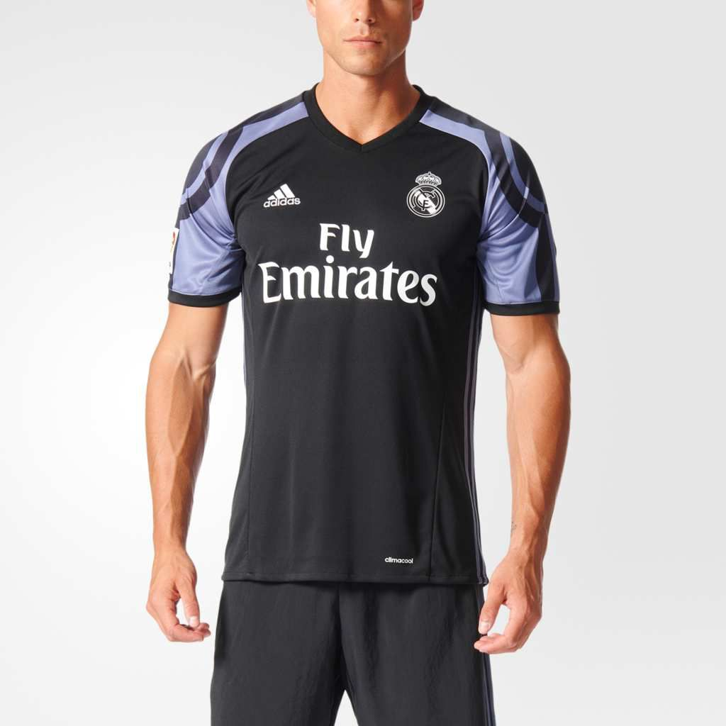 OFFICIEL : REAL MADRID MAILLOT THIRD 2016/2017