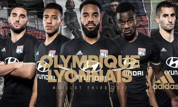 OL LYON : LE NOUVEAU MAILLOT THIRD 2016/2017