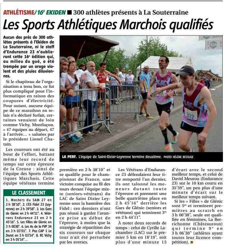 L'article de la Montagne