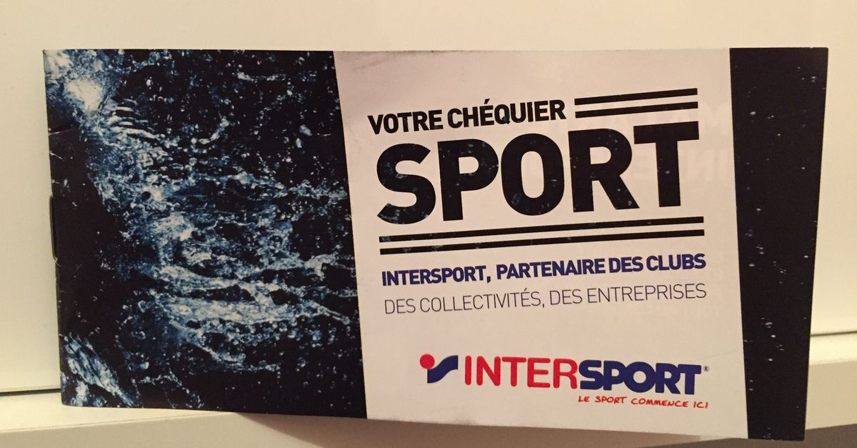 Chéquier INTERSPORT