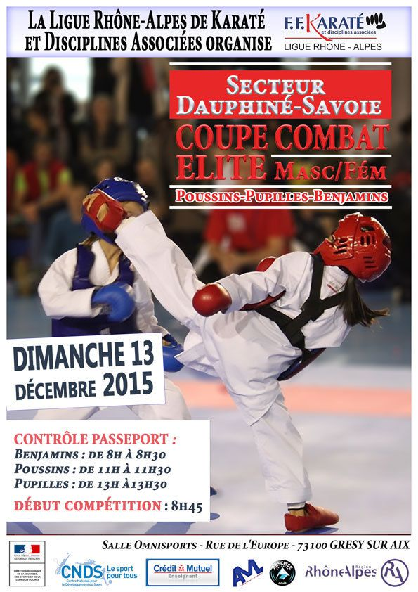 coupe combat elite Ligue Rhone-Alpes